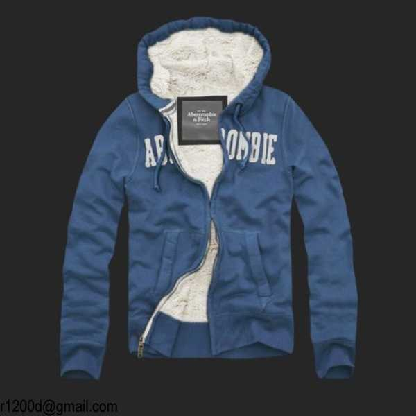 Blanche Site veste Abercrombie France Fitch And wNnm80