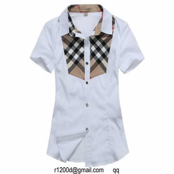 daacbde2abc046 achat chemise de marque,chemise burberry femme manche courte nouvelle  collection,chemise femme esprit