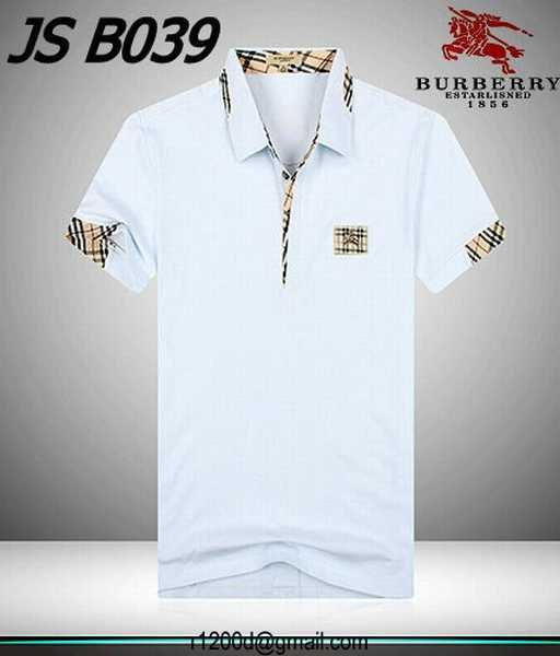 8cd509e2180 polo burberry homme blanc