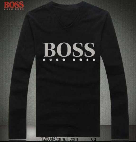 t shirt hugo boss homme polo manche longue hugo boss pas cher t shirt manche longue noir homme. Black Bedroom Furniture Sets. Home Design Ideas