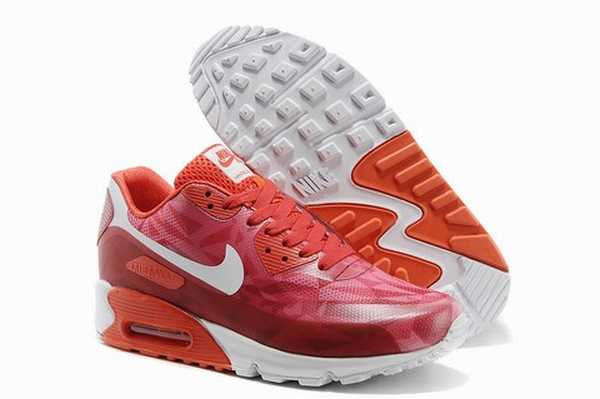 Nike Air Max 90 Rouge Pas Cher