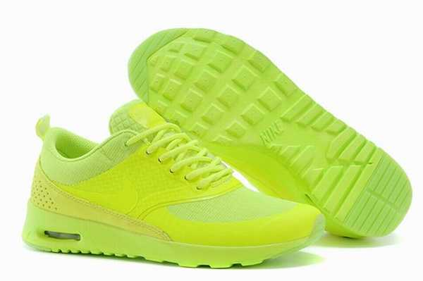 nike air max thea femme sport chaussures saumon rose blanche