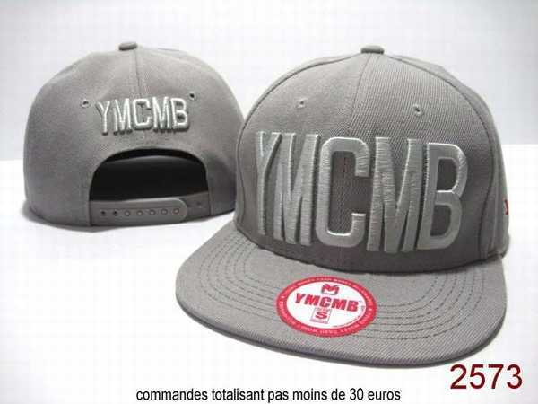 casquette a la mode homme snapback ymcmb blanche vente. Black Bedroom Furniture Sets. Home Design Ideas