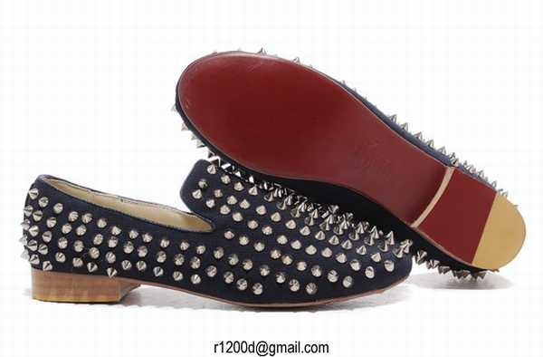 louboutin chaussure homme solde