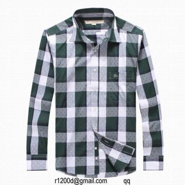 chemise de marque moins cher chemise a carreaux burberry. Black Bedroom Furniture Sets. Home Design Ideas