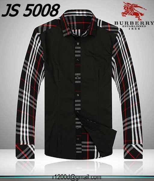 chemise burberry a carreaux,vente chemise homme marque,chemise manche courte  style 96655491d4d