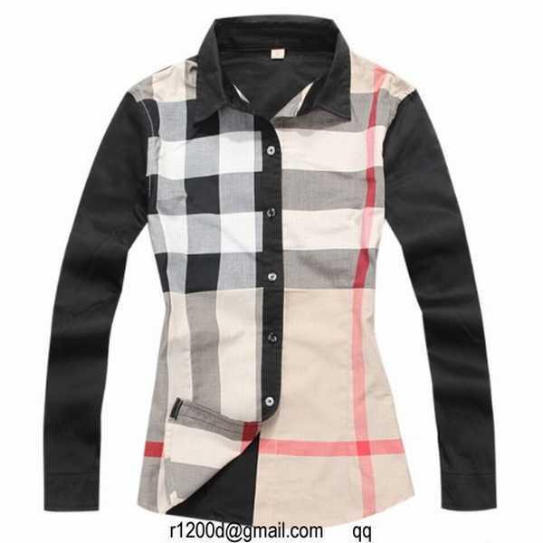 3864744f3abf chemise burberry femme manche longue,chemise burberry occasion,chemise femme  en lin noir