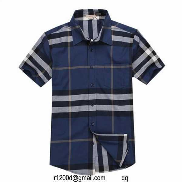 127e3c81123 chemise burberry homme bleu ciel
