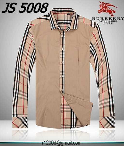 8cc8111bbfb chemise burberry homme manche courte