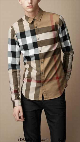 9e8de50a4ba Course pas cher prix chemise burberry femme
