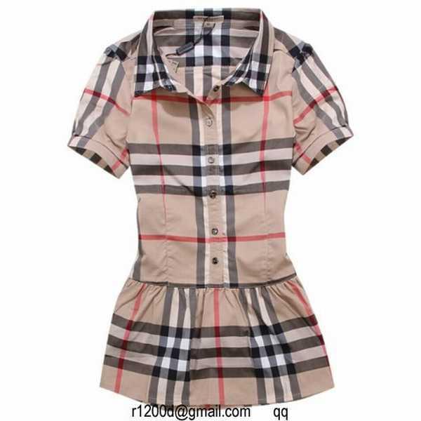 f016f09c0559 2015 Chemise Burberry Femme. chemise de nuit femme petit bateau