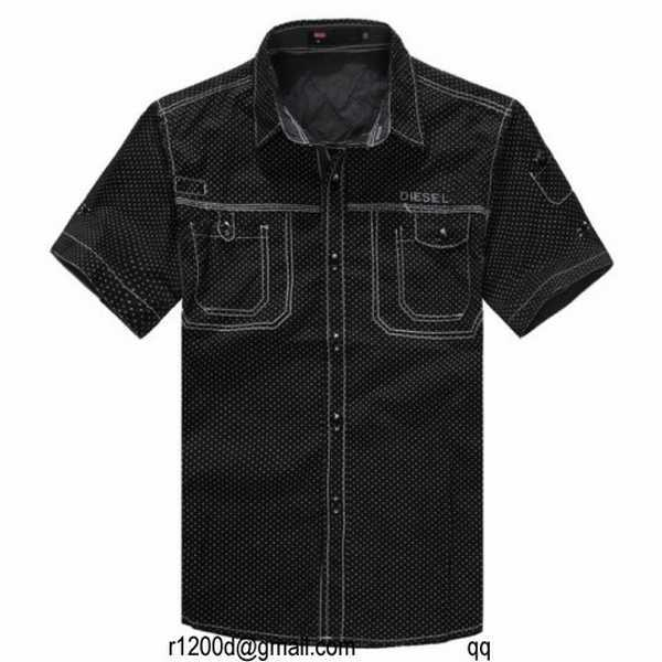 chemise diesel manche courte homme chemise diesel a vendre. Black Bedroom Furniture Sets. Home Design Ideas