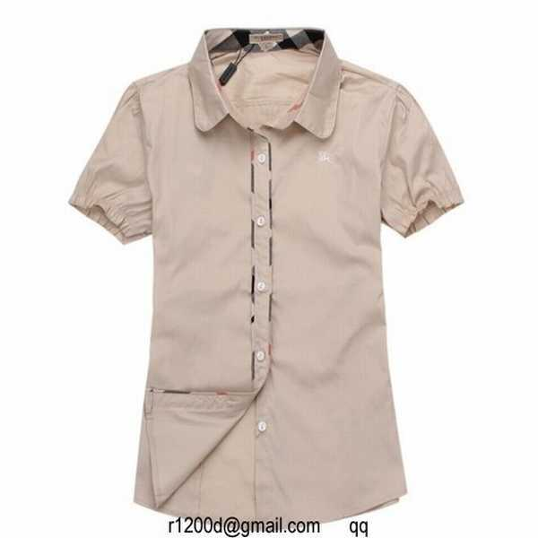 Francaise Occasion Chemise Burberry chemise Marque chemise Ygb6f7y