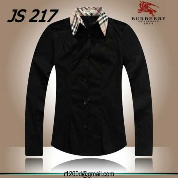 chemise femme tendance pas cher chemise burberry femme pas cher neuve chemise burberry femme a. Black Bedroom Furniture Sets. Home Design Ideas