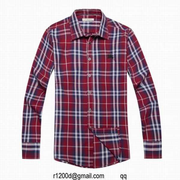 chemise de marque moins cher chemise a carreaux burberry homme chemise homme de luxe pas cher. Black Bedroom Furniture Sets. Home Design Ideas
