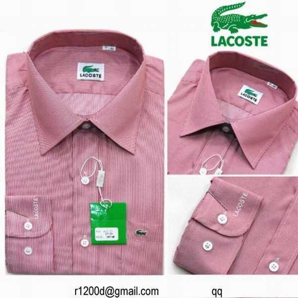 chemise chemise En Solde Lacoste Neuve Chemise wRXHq