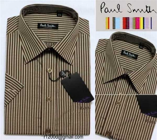 chemise paul smith manche longue homme pas cher vente de chemise paul smith chemise marque anglaise. Black Bedroom Furniture Sets. Home Design Ideas