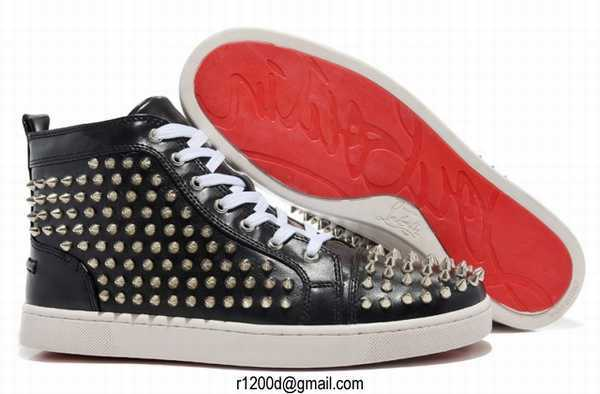 spiked christian louboutin loafers - chaussures christian louboutin pas cher,chaussures mariage ...