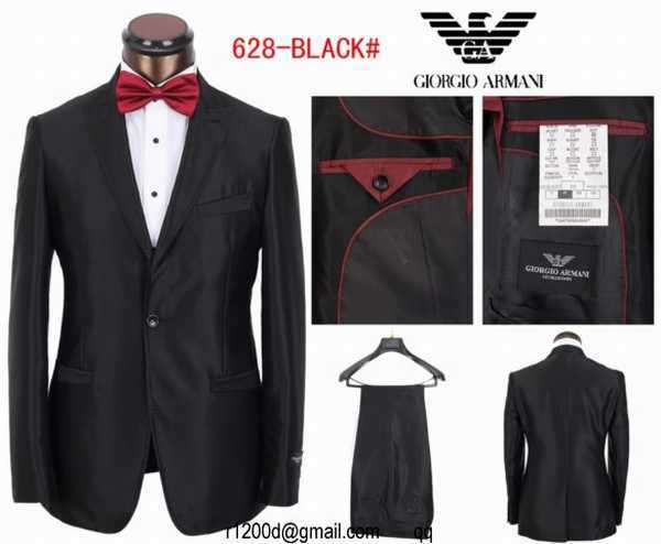 costume armani homme acheter costume de marque pas cher. Black Bedroom Furniture Sets. Home Design Ideas
