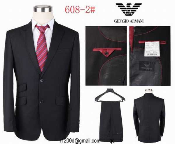 costume de marque en gros costume armani homme costume. Black Bedroom Furniture Sets. Home Design Ideas