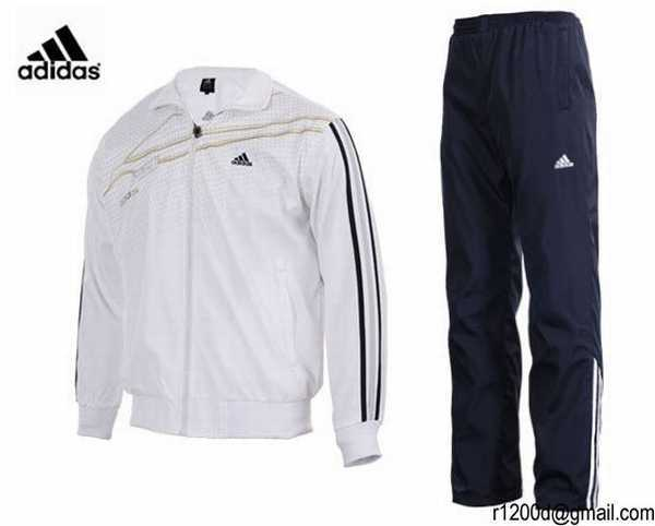 jogging adidas blanc et rouge survetement adidas en lot. Black Bedroom Furniture Sets. Home Design Ideas