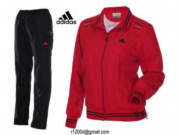 survetement adidas femme rouge. Black Bedroom Furniture Sets. Home Design Ideas