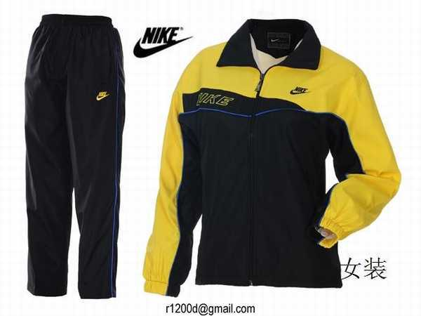 nike ensemble survetement femme