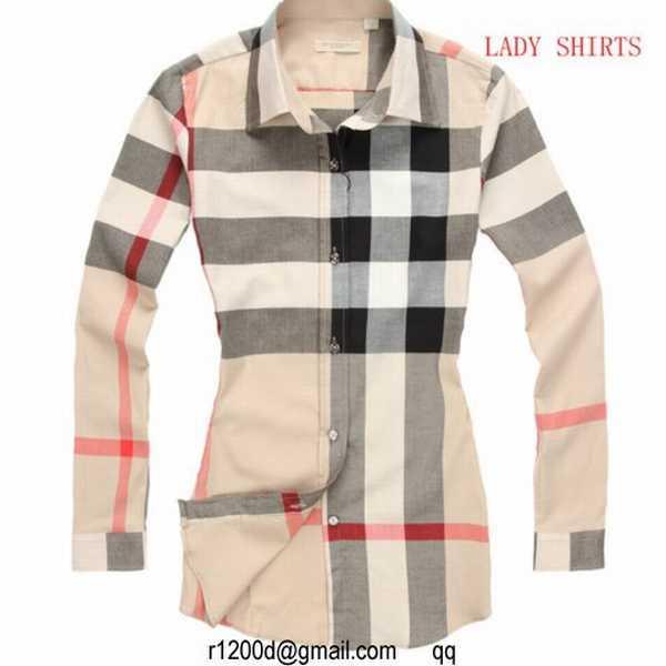 4adae914aedfa lot de chemise burberry femme
