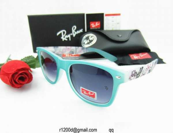 lunettes optic 2000 lunette ray ban bleu. Black Bedroom Furniture Sets. Home Design Ideas
