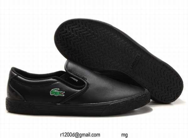 En Lacoste chaussure Chaussures Cuir chaussures Promotion E29YDHIW