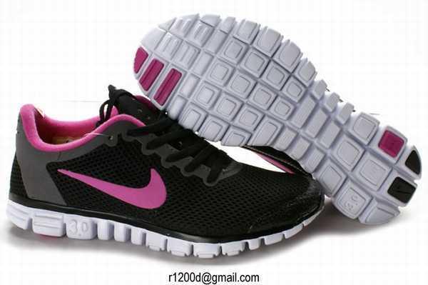 Nike Free Run 3 Rose Fluo Pas Cher