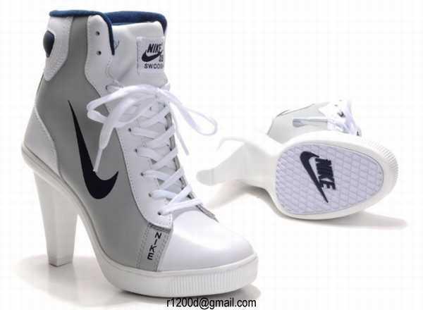 chaussure nike femme compensé