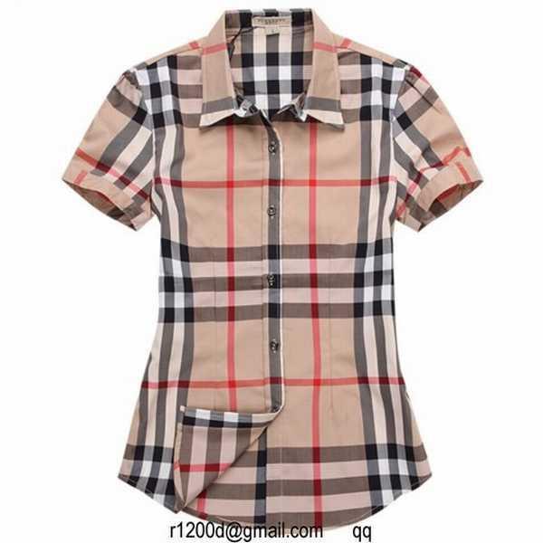 51ddfc32b4e prix chemise burberry femme neuve