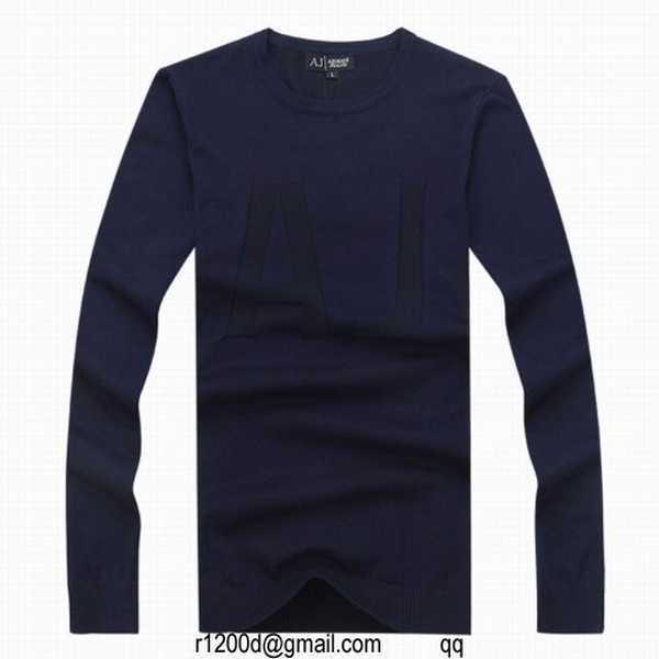 e65d8e6b7ab6 pull armani jeans noir