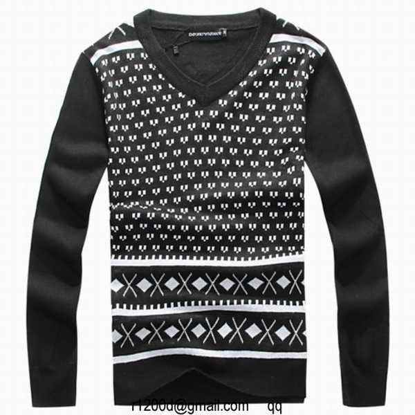 14a1b007166 pull emporio armani col rond homme