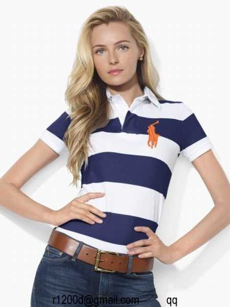 Promo Ralph Lauren polo Black Watch Polos polo Femme En edCoBx