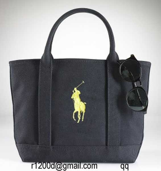 sac ralph lauren en toile sac a main de marque a petit prix sac polo ralph lauren femme. Black Bedroom Furniture Sets. Home Design Ideas