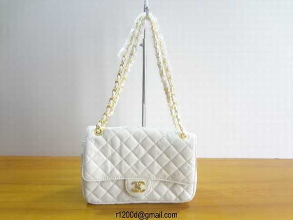 vends sac chanel blanc sac a main pour femme chanel sac de. Black Bedroom Furniture Sets. Home Design Ideas