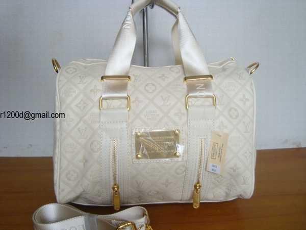Sac A Main Louis Vuitton Blanc