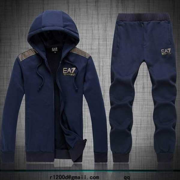 Survetement a la mode ea7 homme survetement armani collection 2013 jogging large coton homme - Survetement a la mode ...
