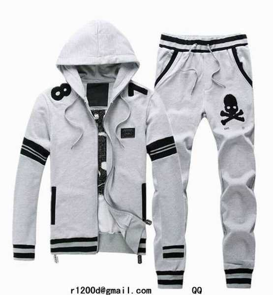 Survetement a la mode jogging survetement homme survetement philipp plein coton - Survetement a la mode ...