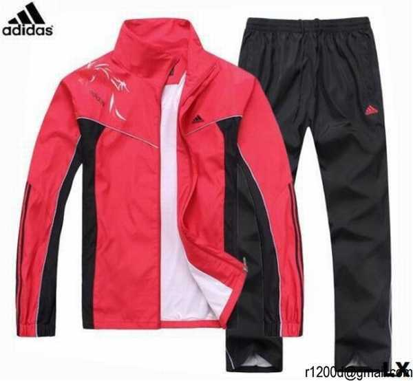 jogging adidas rouge femme. Black Bedroom Furniture Sets. Home Design Ideas