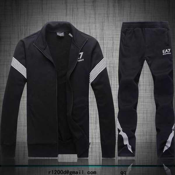 survetement a la mode ea7 homme survetement armani collection 2013 jogging large coton homme. Black Bedroom Furniture Sets. Home Design Ideas