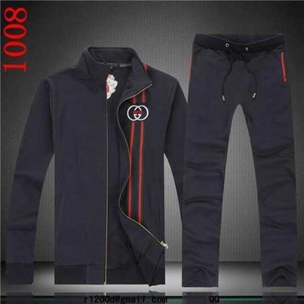 Survetement gucci rouge ensemble jogging de marque - Survetement a la mode ...
