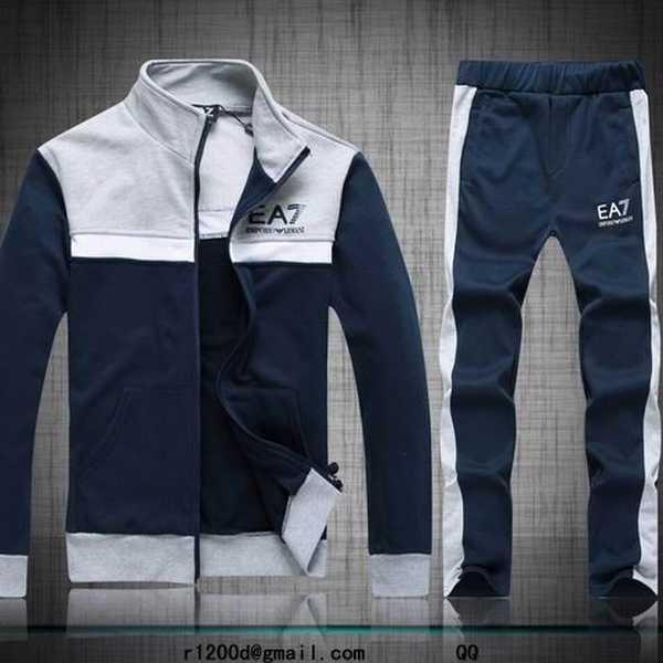 survetement homme en coton,ensemble jogging homme de marque,survetement  armani capuche 73ca974f995