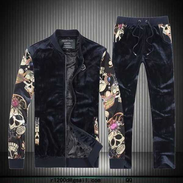 survetement philipp plein homme pas cher ensemble jogging. Black Bedroom Furniture Sets. Home Design Ideas
