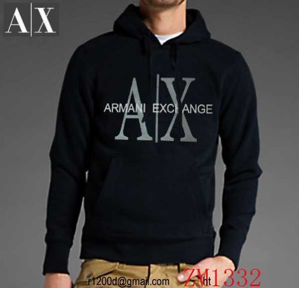 sweat armani tissus de qualite homme sweat shirt zippe capuche homme sweat emporio armani. Black Bedroom Furniture Sets. Home Design Ideas