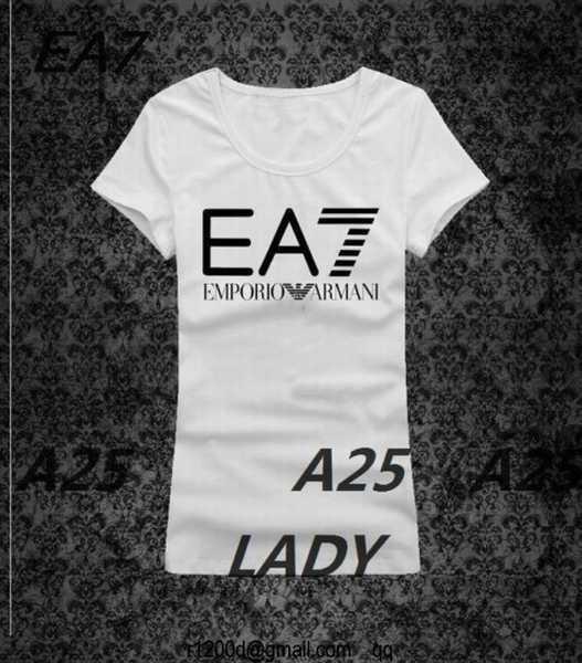 Armani Cher Shirt Tee t Ea7 Femme tee Prix Imprime Pas 0OnwPk