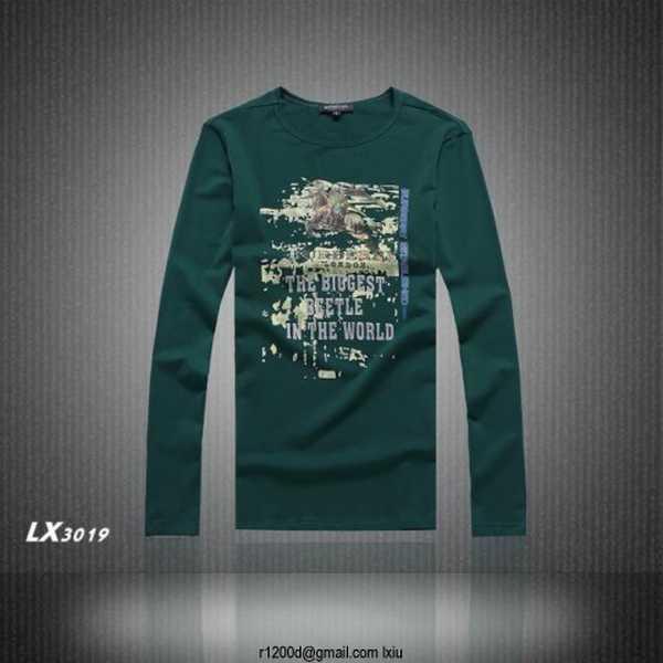 ba5d0d30cab T Shirt Burberry Homme Pas Cher
