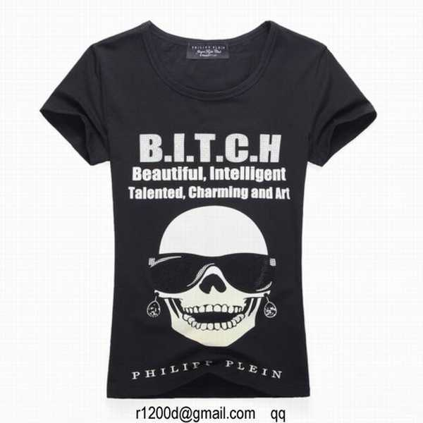 t shirt philipp plein femme collection t shirt femme. Black Bedroom Furniture Sets. Home Design Ideas